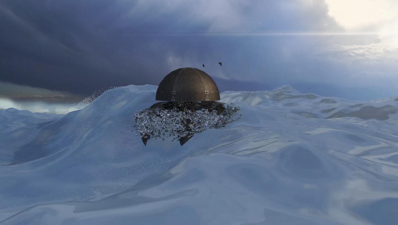 Simulación / animación 3D / Matte Painting