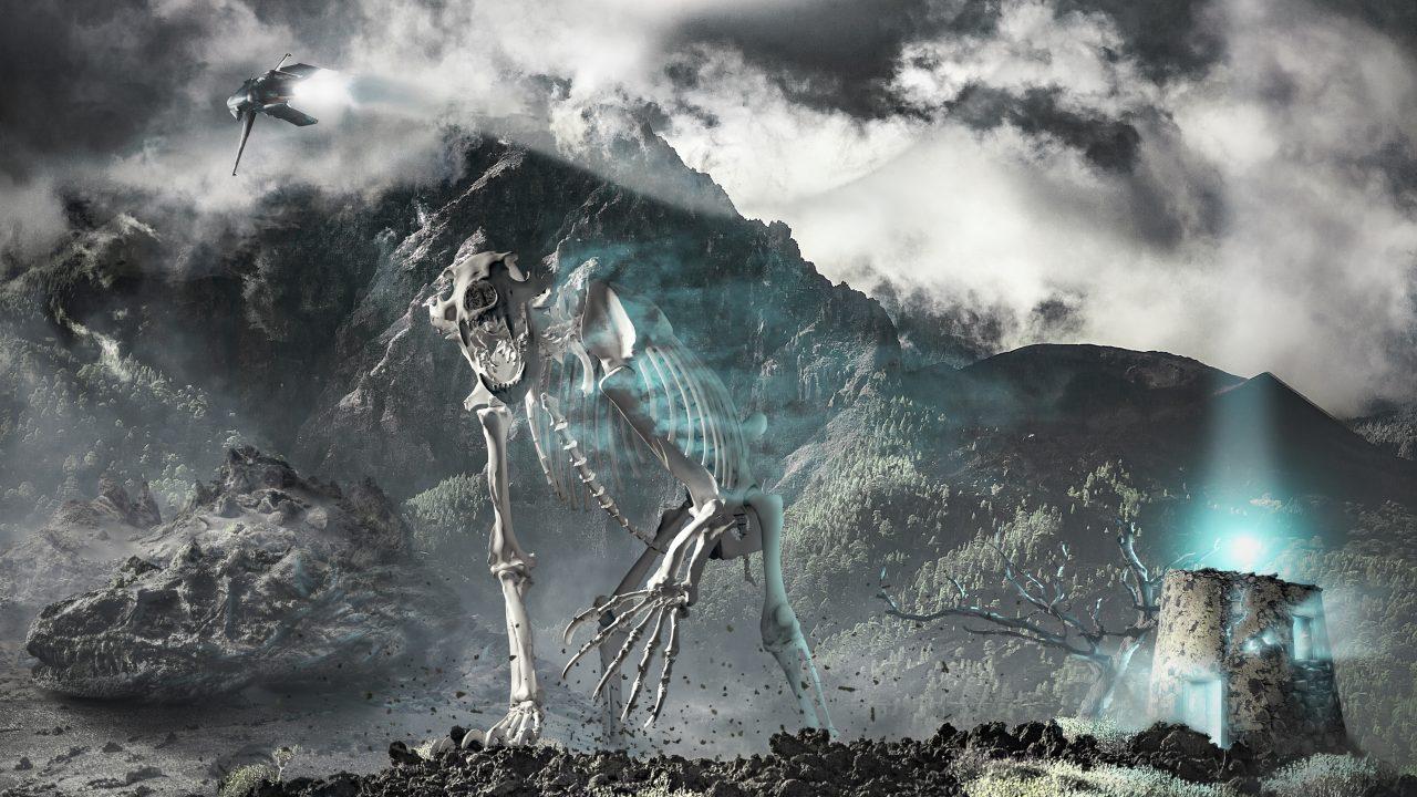 Modelado 3D, composición 3D, fotomanipulación, fotografía de paisaje